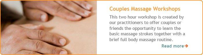 Couples Massage Treatment