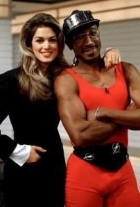 GMTV's Mr Motivator with Cindy Crawford